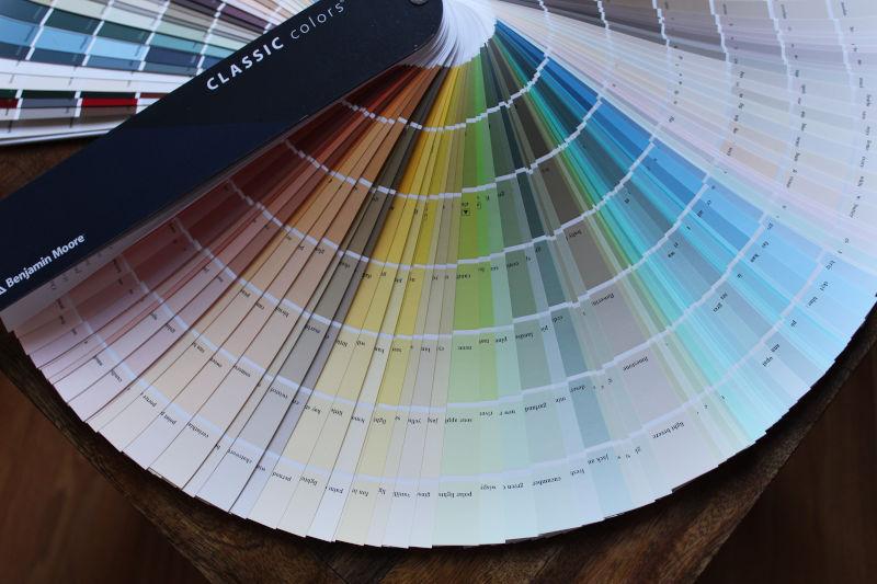 Sustainable interior design colour