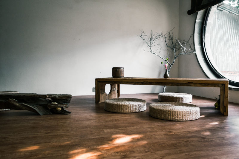 Sustainable wooden table