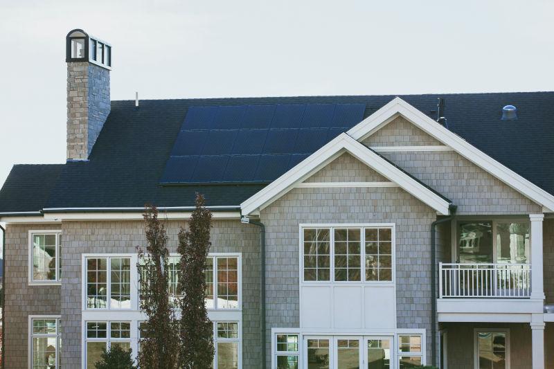 sustainable interior design solar panels