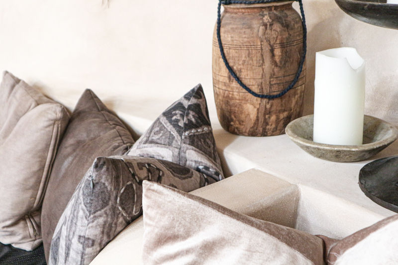 sustainable interior pillow